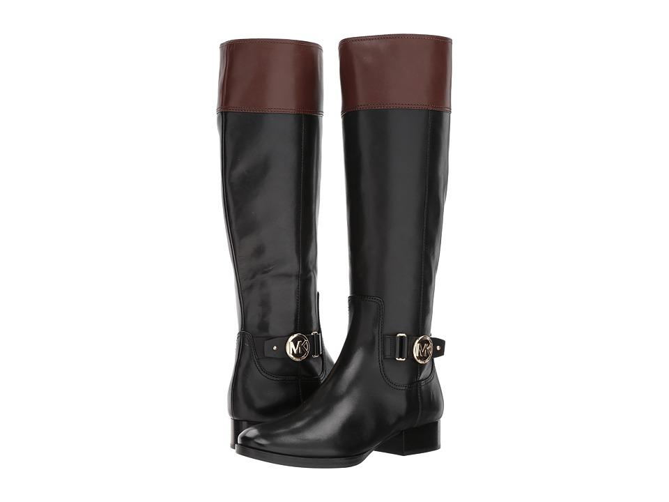 Michael Kors Harland Boot (Black/Mocha Vachetta) Women's ...