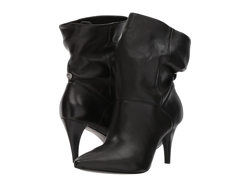 Michael Kors Carey Bootie (Black Soft Nappa) Women's Dres...