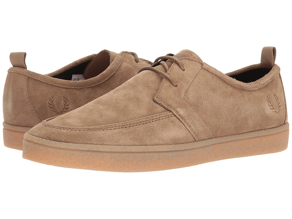 Fred Perry Sheilds Suede Crepe (Almond) Men