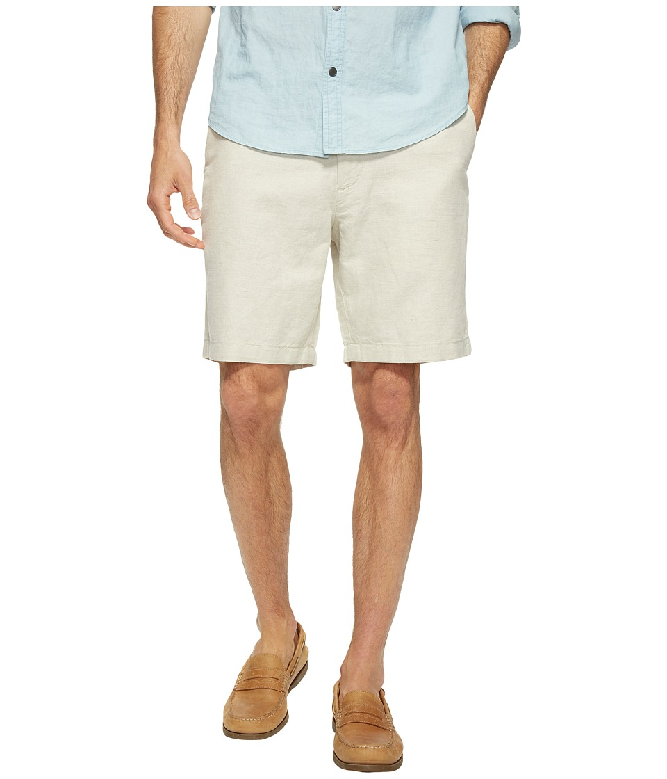 Nautica Linen Cotton Shorts (Wheat Flax) Men