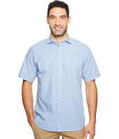 Thomas Dean & Co. - Short Sleeve Mini Check Sport Shirt
