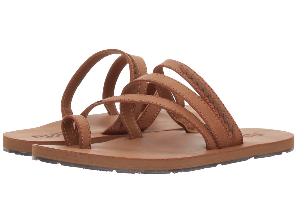 Flojos - Athena (Tan/Brown) Women's Sandals