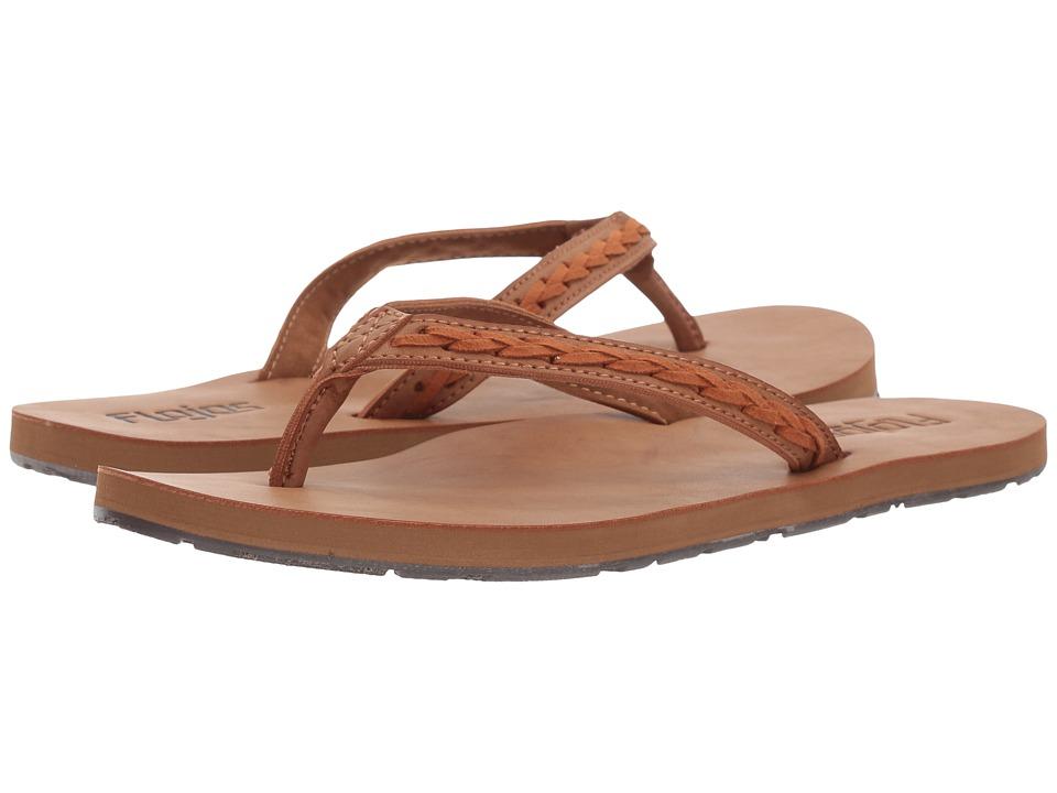 Flojos Hattie (Tan/Tan) Women's Shoes