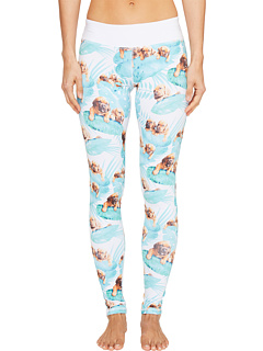 Puppies Make Me Happy - Fern Puppies Leggings
