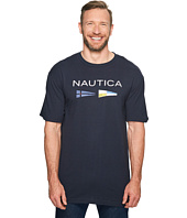 Nautica Big & Tall - Big & Tall Nautica Flags Tee