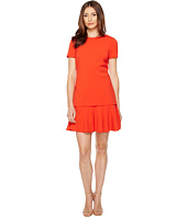 Tahari by ASL - Mock Two-Piece Dropwaist Dress