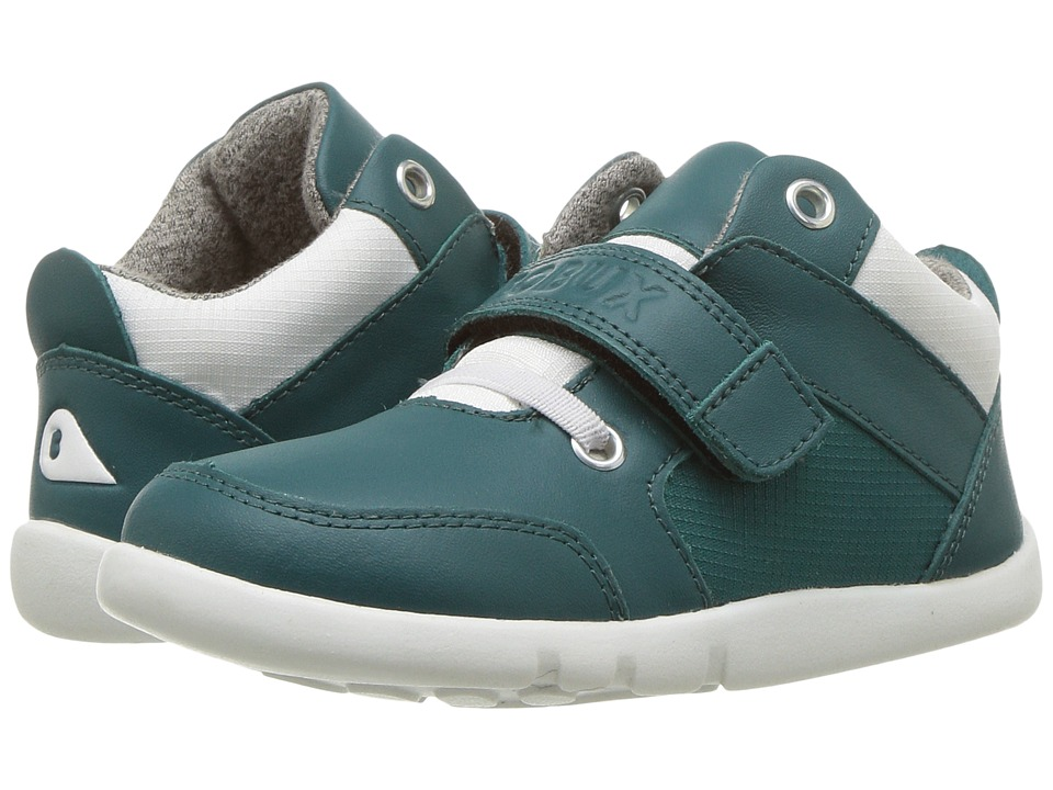 Bobux Kids I-Walk Street Playback (Toddler) (Teal) Kid's Shoes