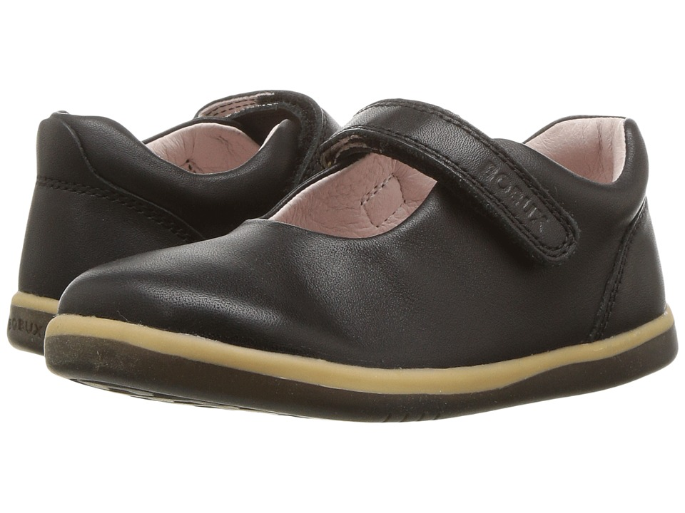 Bobux Kids I-Walk Classic Delight (Toddler) (Black) Girl's Shoes