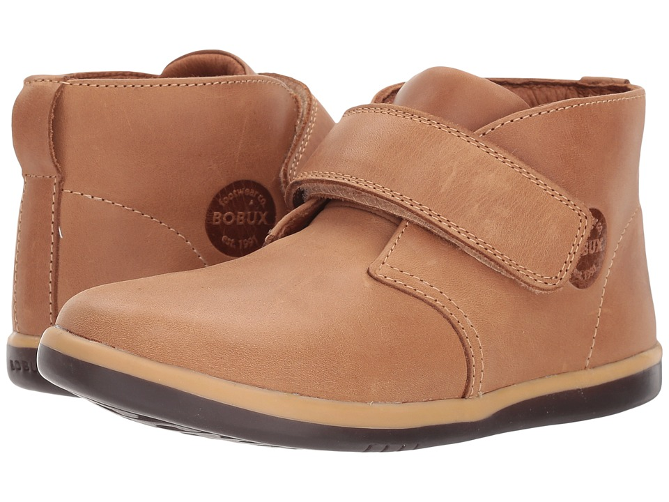 Bobux Kids Kid+ Classic Pioneer (Toddler/Little Kid) (Caramel) Boy's Shoes