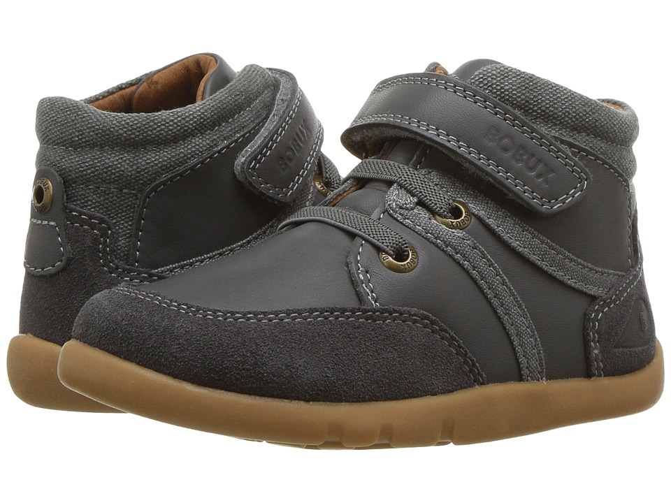 Bobux Kids I-Walk Classic Scoot (Toddler) (Charcoal) Boy's Shoes