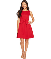 Tahari by ASL Petite - Petite Bow Fit and Flare Dress