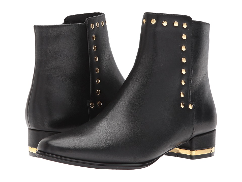 Vaneli Amina (Black Nappa/Gold Trim) Women