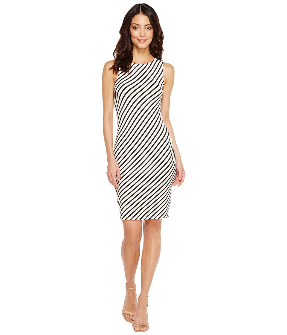 Rachel Pally Charleigh Bias Dress (Black/White Stripe) Women