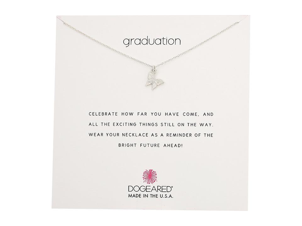 Dogeared Graduation, Graceful Butterfly Necklace (Sterlin...
