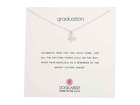 Dogeared Graduation, Graceful Butterfly Necklace - Sterling Silver