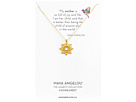 Dogeared Maya Angelou: Mom Me Necklace