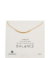 Balance Adjustable Cord Necklace  Gold