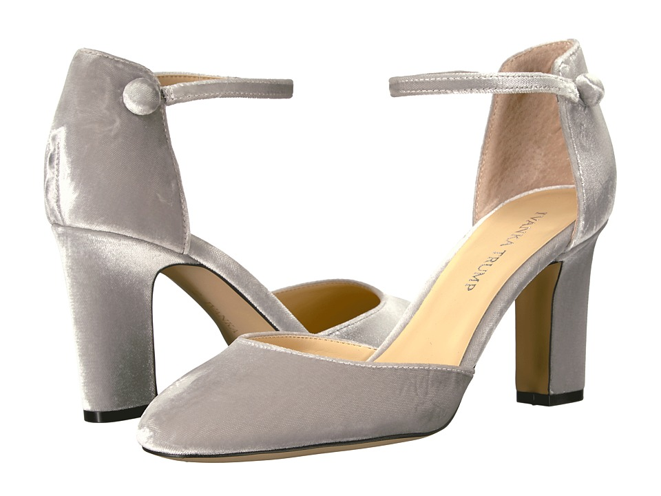 Ivanka Trump Berea 2 (Silver Fabric/IP Velluto Master) High Heels