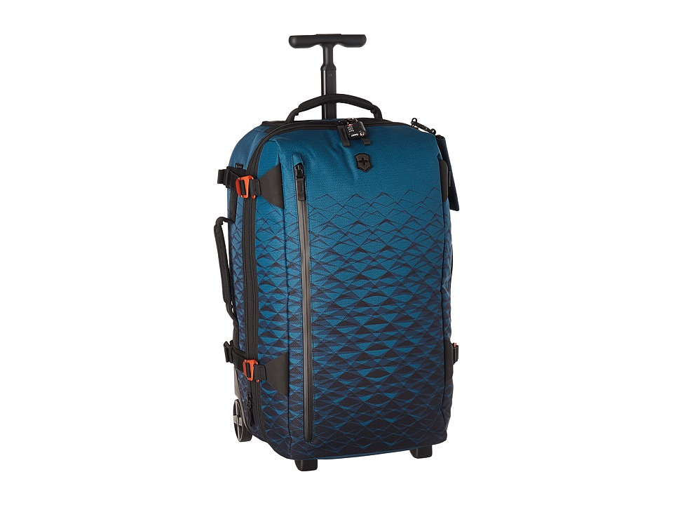 Victorinox VX Touring Wheeled 2-in-1 Carry-On (Dark Teal) Carry on Luggage