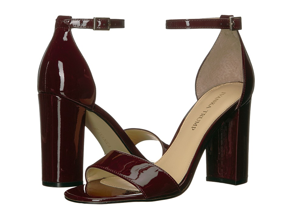 Ivanka Trump Klover (Dark Red New Patent Leather) High Heels