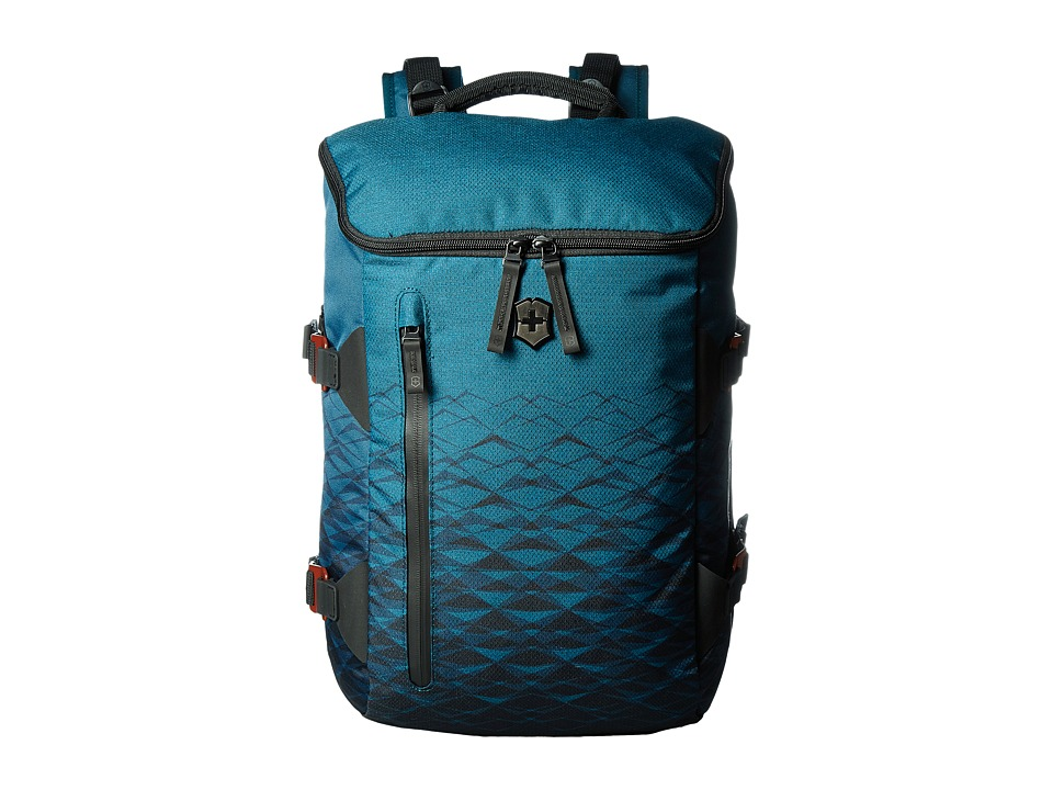 Victorinox - VX Touring Laptop Backpack 15 (Dark Teal) Backpack Bags