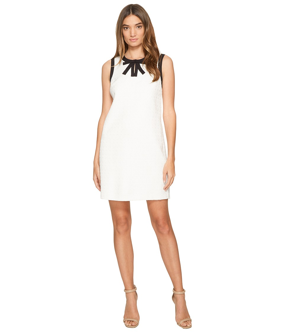 CeCe - Camilla - Sleeveless Bow Neck (New Ivory) Womens Dress