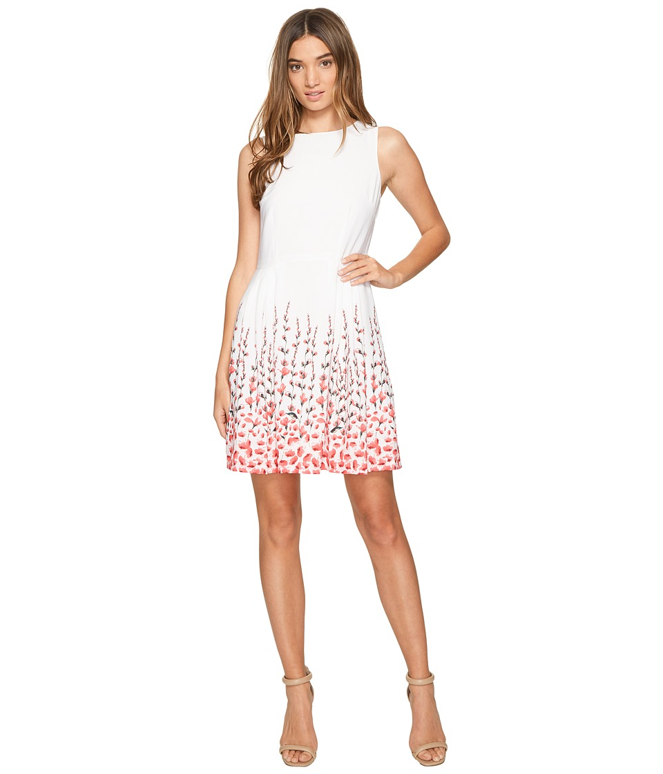 CeCe Claiborne Sleeveless Floral (New Ivory) Women
