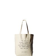 Dogeared - Maya Angelou: If You Are Always Trying Big Tote