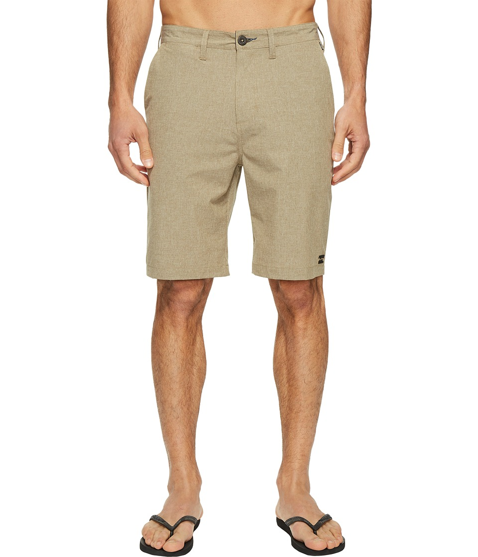 Billabong Crossfire Legacy Submersible Walkshorts (Gravel) Men