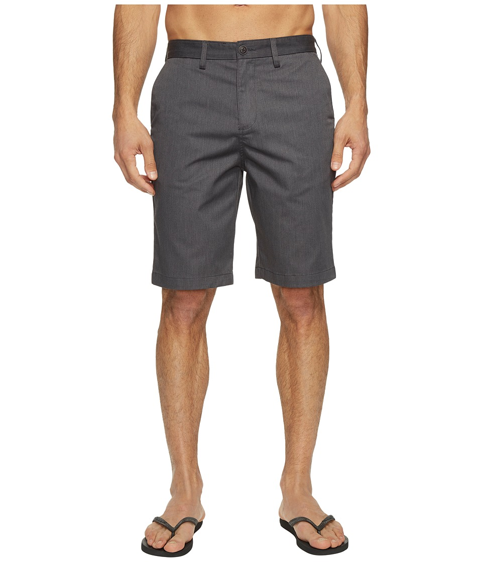 Billabong Carter Legacy Chino Walkshorts (Charcoal Heather) Men