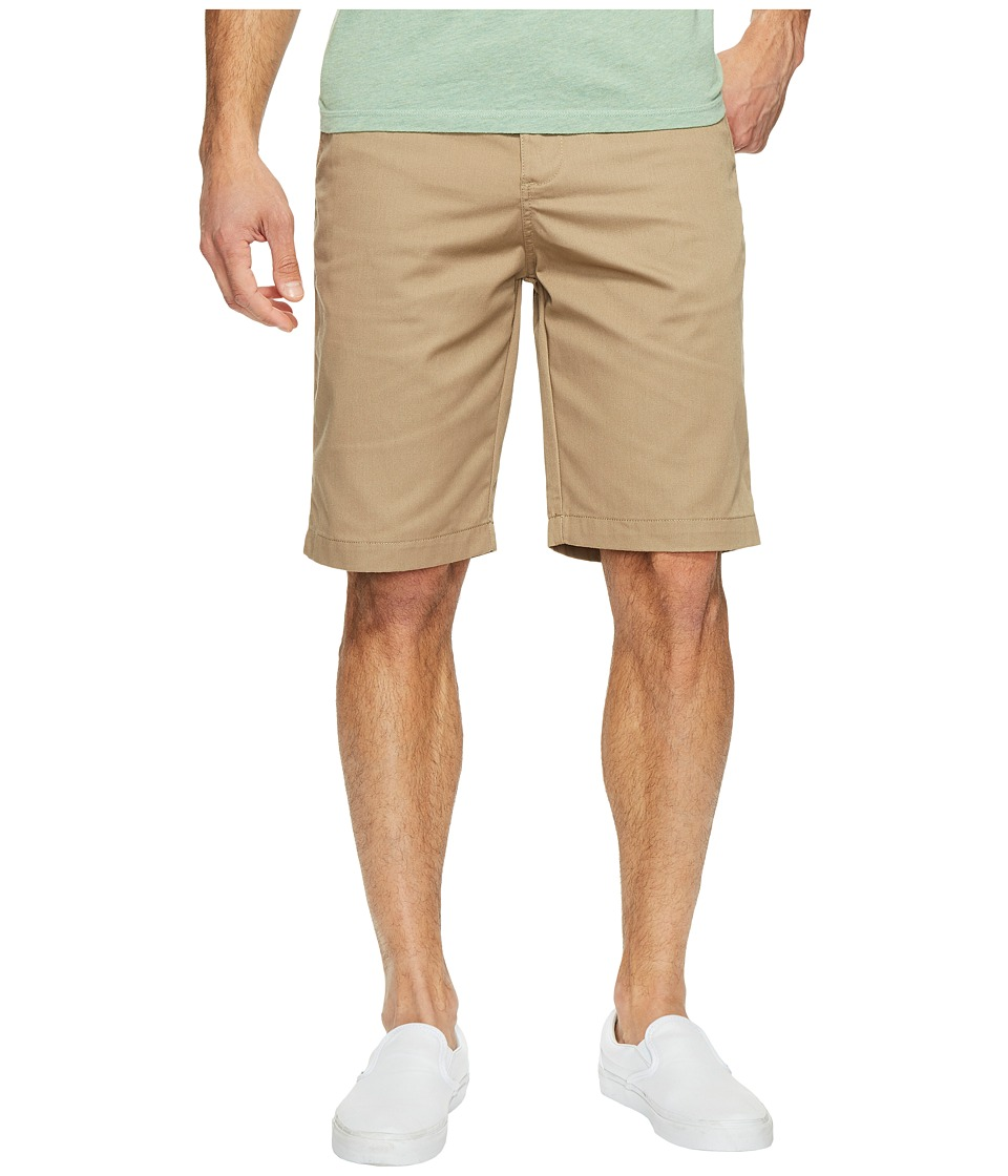 Billabong Carter Legacy Chino Walkshorts (Dark Khaki) Men