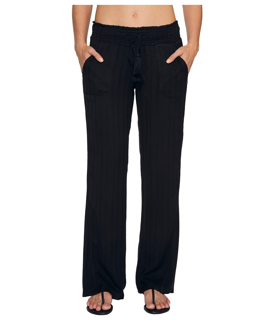 Roxy Ocean Side Pants Cover-Up (Anthracite) Women