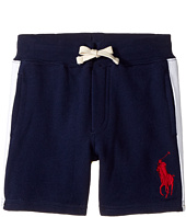 Polo Ralph Lauren Kids - Atlantic Terry Big Pony Polo Shorts (Toddler)