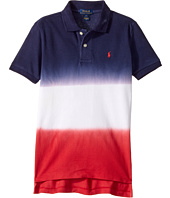 Polo Ralph Lauren Kids - Basic Mesh Ombre Top (Little Kids/Big Kids)