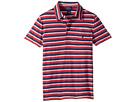 Yarn-Dyed Slub Jersey Short Sleeve Cut Top (Little Kids/Big Kids)