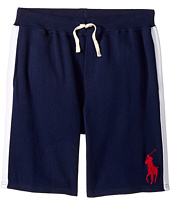 Polo Ralph Lauren Kids - Atlantic Terry Big Pony Polo Shorts (Big Kids)