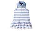 Polo Ralph Lauren Kids - Stretch Mesh Slim Polo Dress (Toddler)