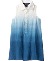 Polo Ralph Lauren Kids - Linen Dip-Dye Dress (Toddler)