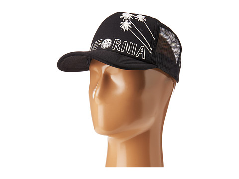 Rip Curl Surf Stripe Trucker Hat - Black