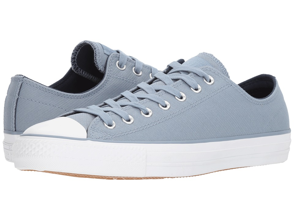 Converse Skate Chuck Taylor(r) All Star(r) Pro Suede Backed Twill Ox (Blue Slate/Midnight Navy) Skate Shoes