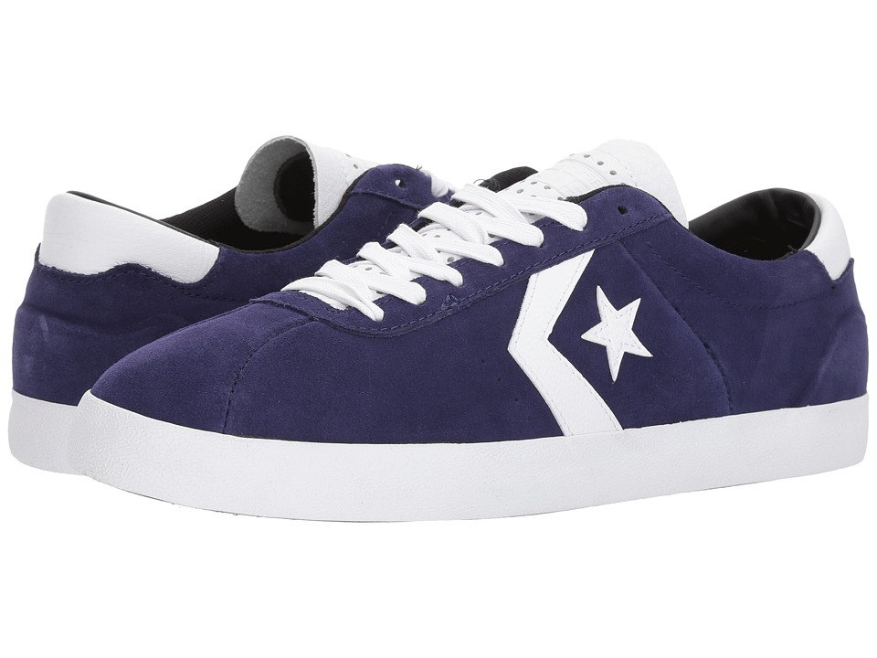 Converse Skate Breakpoint Pro Suede w/ Leather Ox (Midnight Indigo/White) Skate Shoes