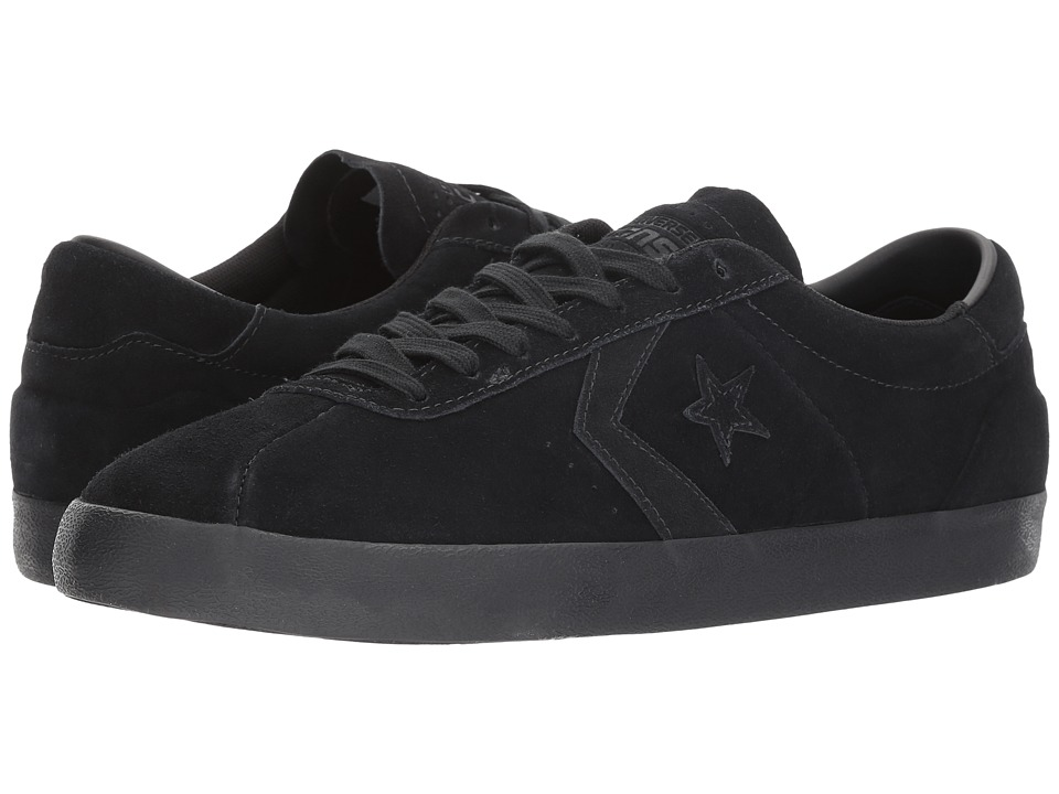 Converse Skate - Breakpoint Pro Mono Suede Ox Skate (Black/Black/Black) Skate Shoes