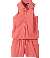 Polo Ralph Lauren Kids - Stretch Mesh Romper (Little Kids)
