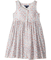 Polo Ralph Lauren Kids - Cotton Poplin Floral Dress (Big Kids)