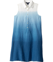 Polo Ralph Lauren Kids - Linen Dip-Dye Dress (Big Kids)