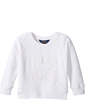 Polo Ralph Lauren Kids - Atlantic Terry Flag Crew Top (Toddler)