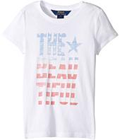 Polo Ralph Lauren Kids - Cotton Jersey Short Sleeve Graphic Tee (Little Kids)