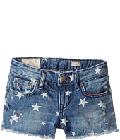 Polo Ralph Lauren Kids - Denim Print Shorts (Little Kids)