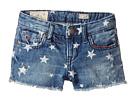Polo Ralph Lauren Kids - Denim Print Shorts (Little Kids)