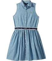 Polo Ralph Lauren Kids - Chambray Shirtdress (Big Kids)